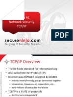 Module 16 - Network Security TCP-IP