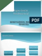 _Regime Geral de Previdência Social - Beneficiários, Inscrição e Registro