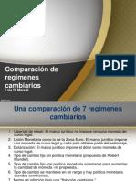 Luis Di Mare H. - Comparación de regímenes cambiarios