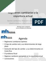 Manrique Sáenz Castegnaro - Regímenes cambiarios y la coyuntura actual