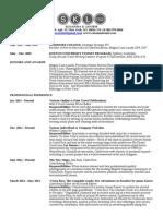 Slo Urie Resume 2014