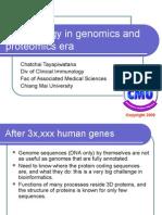 Immunology in Genomics and Proteomics Era