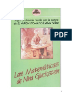 Vilar Esther - Las Matematicas de Nina Gluckstein