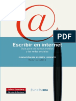 106471392 Escribir en Internet Guia Para Los Nuevos Medios y Las Redes Sociales Fragmento