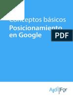 eBook Posicionamiento Google