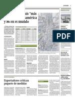 Perú 8vo País Más Bueno en Sudamérica y 86 en El Mundo_Gestión 30-06-2014