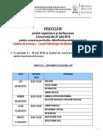 Grafic Discipline Inscriere 2014
