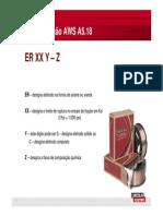 Nomenclatura Consumivel AWS a 5.18