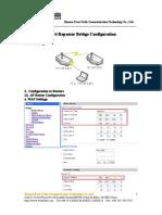 Repeater Bridge Configuration