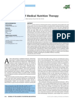 Acne the Role of Medical Nutrition Therapy