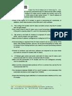 FAQ OF IP MODEM