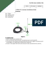 Four-Faith GPRS&3G Antenna Installation Rule
