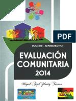 Libro Evaluacion Comunitaria 2014
