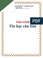 Giao Trinh Tin Hoc Can Ban 1 8729