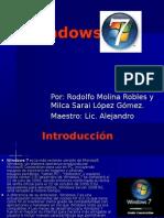 Windows 7-Rodlfo Milca