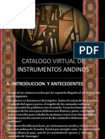 Catalogo Virtual de Instrumentos Andinos