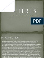 Human Resource Informtion System Ppt1