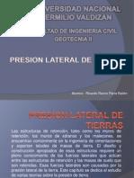 PRESION LATERAL DE TIERRAS.pptx