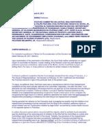 MaMerceditazGutierrez vs HOR-ReIMpeachment W DIGEST