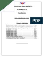 Modelo de Examen de Competencia Lingüística