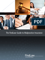 The FindLaw Guide to Malpractice Insurance