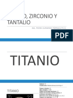 s12 - Titanio, Zirconio y Tantalio