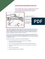 Evaluación Del Sensor de Posición Del Cilindro de Dirección Izquierdo