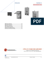GE Circuit Breaker Enclosures