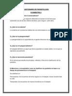 Cuestionario de Parasitología Oficial. (1)