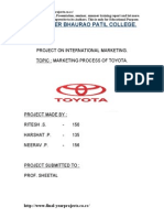 Toyota Project new