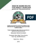 Universidad de Aquino Bolivia Caratula...