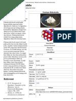 Natrium Hidroksida - Wikipedia Bahasa Indonesia, Ensiklopedia Bebas