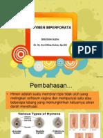 Hymen Imperforata