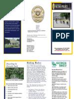 SCMPD's Road Rules Brochure