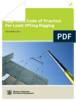 Approved Code of Practice for Load-Lifting Rigging - 2012
