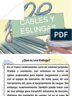 Eslingas y Cables