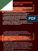 LAS GENERACIONES LITERARIAS DE.pptx