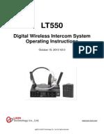 LT550+Expert+system_Operating+instruction_English+ver.