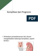 Komplikasi Dan Prognosis Batu Ginjal