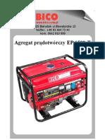 Bico Instrukcja Agragat EP6500T