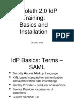 2 - Shibboleth IdP Installation
