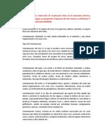 Contaminación Ambiental de Guatemala Esto Es El Sustento Teórico