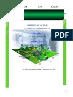 CONSTRUCCION DEL COMPORTAMIENTO DE UN OBJETO