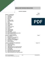 2013 f1 Technical Regulations
