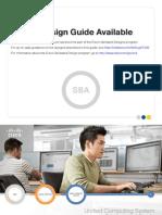 Cisco SBA DC UnifiedComputingSystemDeploymentGuide