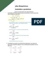 Resoluçao Aminoacidos e Proteinas