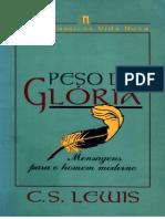 C S Lewis Peso de Gloria