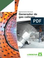 Loesche Aplicaciones Termicas Generador de Gas