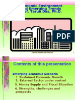 Economic Environment and Emerging Trends in India by Tarun Das