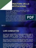 La Estructura de Lo Constitucional